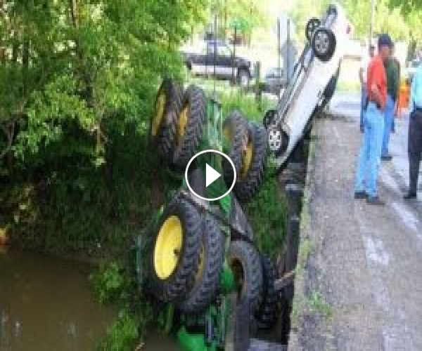 Horrible Tractor Crashes #2
